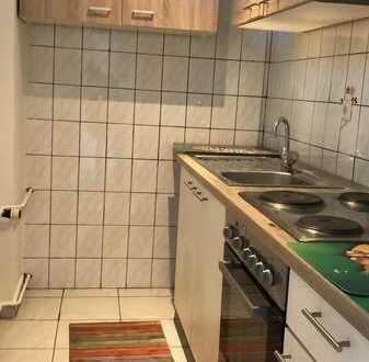 Modernisierte 1-Raum-Wohnung mit Balkon und Einbauküche in Karlsruhe