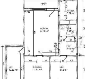 *Mein neues Zuhause im Albert-Schweitzer-Ring 71 / 4-Raum mit Balkon*