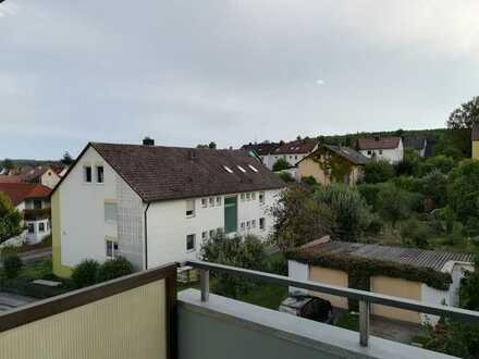1-Zimmer Wohnung teilmöbliert mit Süd-Balkon in Ansbach