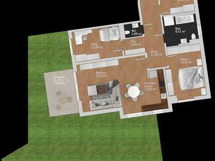4-Zimmer Wohntraum im Erdgeschoss