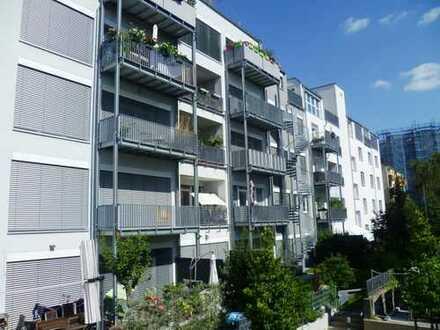 Niveauvolles Wohnen im ehemaligen Funkhaus !  3-Zi.-Dachterrassenwhng Nbg.-Nord CK 4104