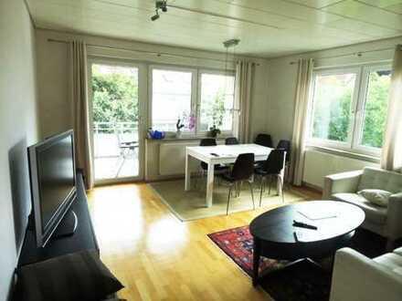 kpl. möblierte Zweizimmerwohnung mit Balkon