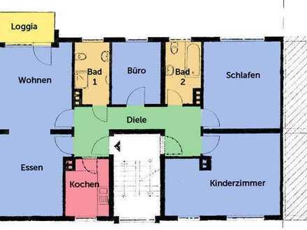 Familienfreundliche Eigentumswohnung mit 4,5 Zimmern, Balkon und Garage