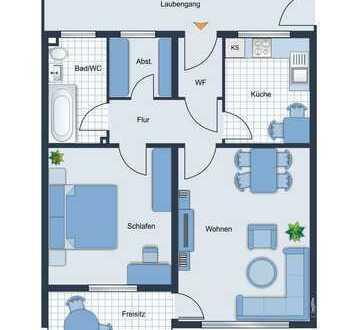 Moderne 2-Zimmer Wohnung in Frankfurt am Main zu verkaufen - Erstbezug