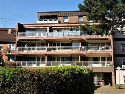 Schöne 2-Zimmerwohnung mit großem Balkon in zentraler Lage