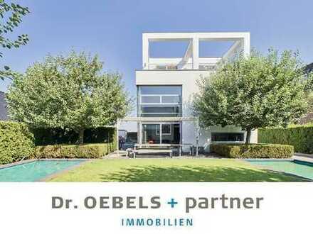 PERFEKTE KOMPOSITION: Luxus und Modernität mit separatem Appartementhaus