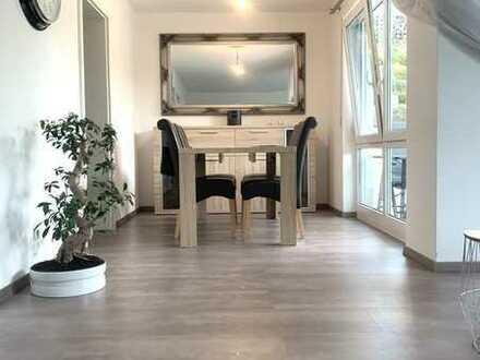 4-Zimmer-Maisonette-Wohnung mit Balkon und Gartenanteil