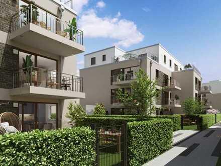 Liebevoll gestaltete 4-Zi.-Wohnung mit attraktiver Ausstattung, Südbalkon + perfekter Anbindung
