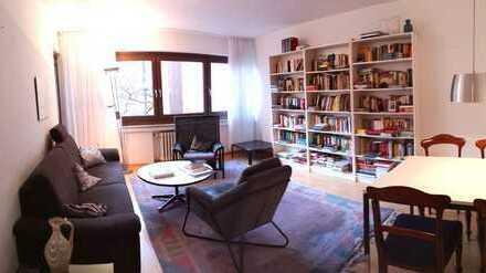 Helle, ruhige, gepflegte 3-Zimmer-Wohnung mit Balkon und EBK in Bayenthal, Köln