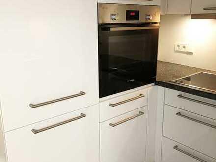 Neubau! Top 1/1.5-Zimmer-Wohnung mit Luxus BOSCH Einbauküche