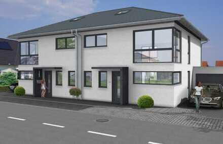 Individuell planbar: Exklusive Stadtvilla (schlüsselfertig) als DHH mit 120m² + Garage in guter Lage