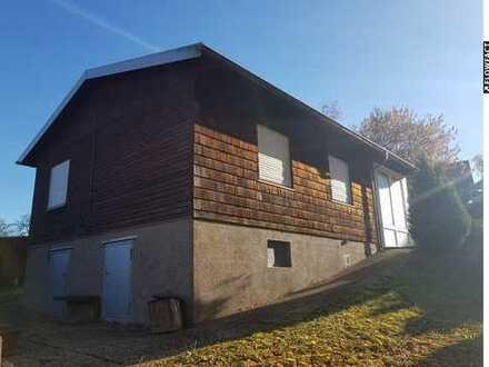 Sehr charmantes Baugrundstück mit Wochenendhaus in Höheischweiler