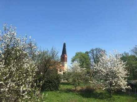 Baugrundstück inmitten von alten Obstbäumen - Bauträgerfrei - Erschlossen Ruf: 0176 321 435 39
