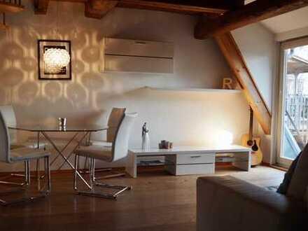 Traumhaft charmante 2,5-Zimmer-Maisonette-Wohnung im Fachwerkhaus