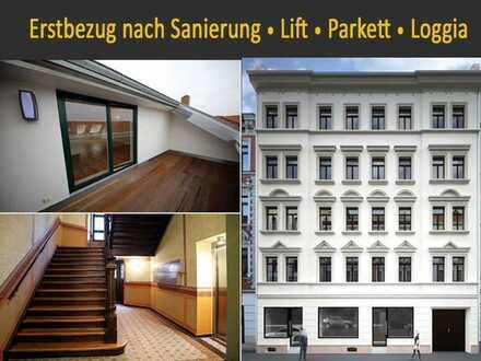 ERSTBEZUG * 4-Raum * Dachgeschoss * EBK * Lift * Dachloggia * Fußbodenheizung * TLB mit Wanne+Dusche