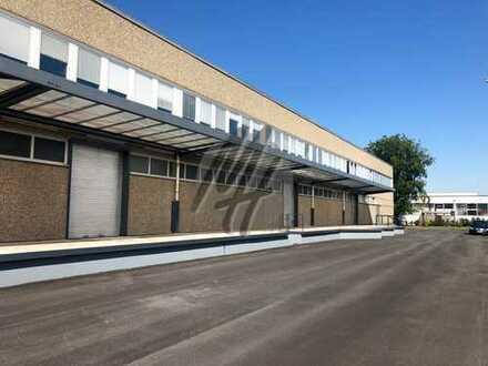 Gewerbeobjekt mit Lager-/Produktion (3.100 m²) & Büro (500-1.400 m²) & großem Freilager zu vermieten