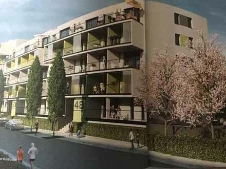 Erstbezug: schöne 3,5-Zimmer-Wohnung mit Balkon in Pforzheim