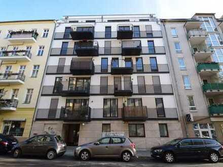 Erstbezug! TOP Eigentumswohnung mit Balkon im sehr beliebten Samariterkiez! Erstbezug!