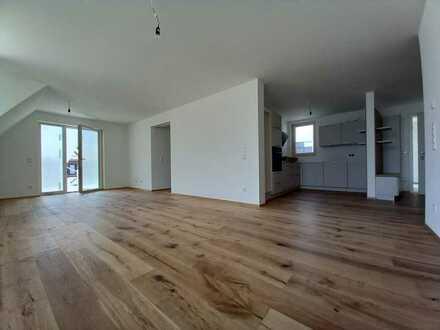 Erstbezug: schöne 3,5-Zimmer Wohnung mit Ausblick