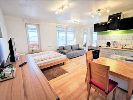 Attraktive 1-Zimmer-Penthouse-Wohnung mit Panoramablick in Halbhöhenlage von Plochingen