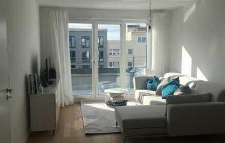 Exklusive 3-Zimmer-Wohnung mit Terrase kurzfristig beziehbar in Bogenhausen, München