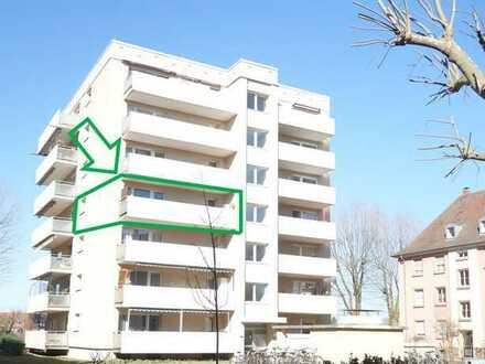 Helle Eigentumswohnung mit großem Balkon in Karlsruhe Mühlburg