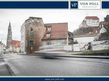 Historie trifft Moderne 360° Rundgang Businessstandort im Münchner Tor mitten in Landshut