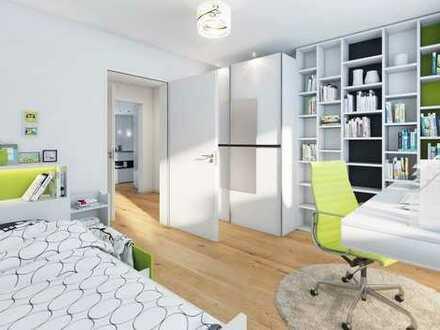 Moderne 3-Zimmer Wohnung mit Terrasse und Gartenanteil (WE 8)