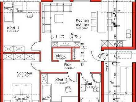 900 €, 92 m², 4 Zimmer