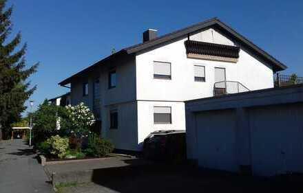 Helle, ruhig gelegene 4-Zimmer-Wohnung im 1.OG mit Balkon und 33m² großer Terrasse in Einhausen