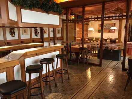 Etablierte Gaststätte mit großer Terrasse und Stammkundschaft