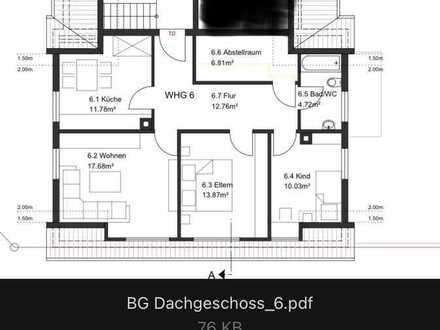 Modernisierte Wohnung mit dreieinhalb Zimmern und Einbauküche in Nufringen