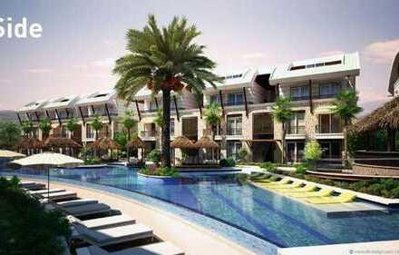 Appartements u. Penthouses in der Luxusanlage Hill Side in Side a.d. türk. Riviera