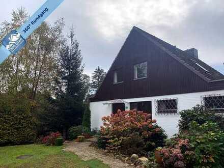Unverbaubarer Blick - Einfamilienhaus in Verbundbauweise auf einer ruhigen Anhöhe in HH-Eißendorf