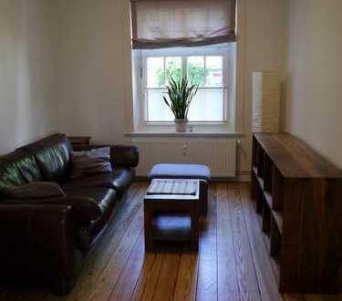 Sanierte, ruhige zwei Zimmer Altbau-Wohnung (teilmöbliert) in Hamburg, Neustadt