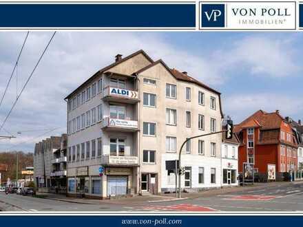 Bielefeld-Gadderbaum: Wohn- und Geschäftshaus in zentraler Lage mit ca. 635 m² vermietbarer Fläche