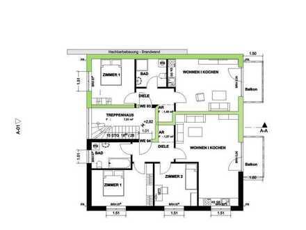 Sonnige 2-Zimmer-Wohnung in Eggersdorf