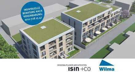 BAUSTART: 2-Zimmer-Whg auf 2 Ebenen mit Südterrasse