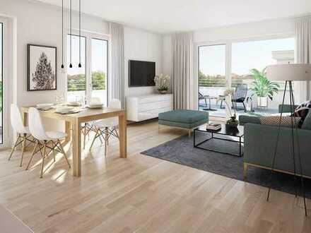 Entspannt mitten im Leben! Großzügige 2-Zimmer-Wohnung mit hellen Räumen und herrlicher Terrasse