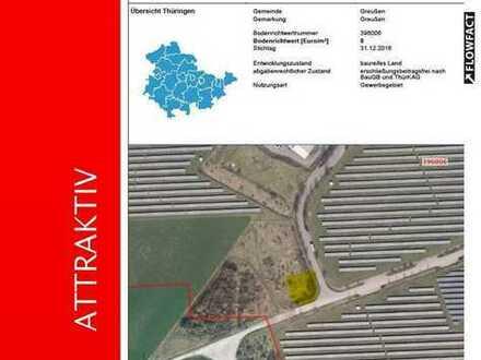 ATLAS IMMOBILIEN: Bauland Gewerbegebiet Greußen