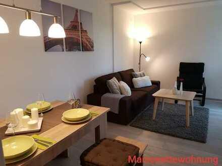 Gepflegte 3-Zimmer-Maisonette-Wohnung, modern mit Balkon in Augsburg Kriegshaber