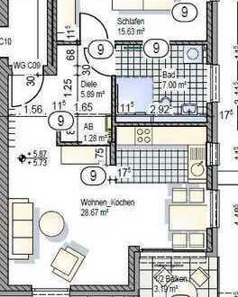 2.OG 2-Zimmerwohnung