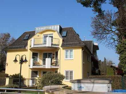 Ansprechende 2 1/2 -Zimmer-DG-Wohnung mit Balkon und Einbauküche in Hohen Neuendorf