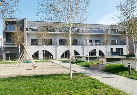 ERSTBEZUG! Grozßzügige 2-Raum Whg. mit Terrasse, Fubo-Heizung, Parkett, Gäste-WC, Ankleide