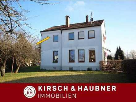 Großzüggie 3-Zimmer-Wohnung + Gartennutzung + Garage,  Postbauer-Heng