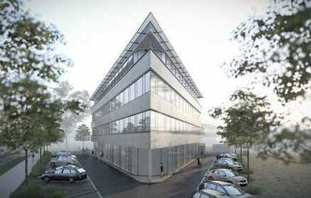 Büro- und Praxisflächen Nähe Audi-Sportpark für Erstbezug - modern und repräsentativ