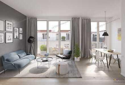 neue lichtdurchflutete DG-Wohnung (Erstbezug) mit Terrasse provisionsfrei zum Verkauf
