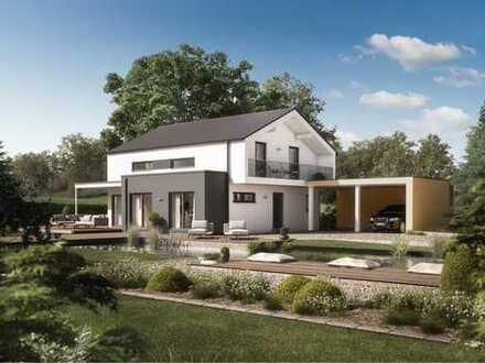 Individ. Neubau auf Grundstück in Randlage