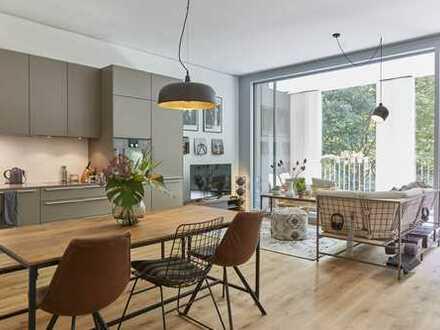 Luxuriöse 2-Zimmer-Wohnung mit EBK und Loggia im Schwabinger Tor