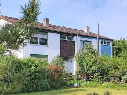 Schöne Doppelhaushälfte mit Garten in direkter Feldrandlage von Wiesenbach